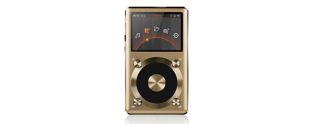 Аудио-плееры FiiO X3II Gold