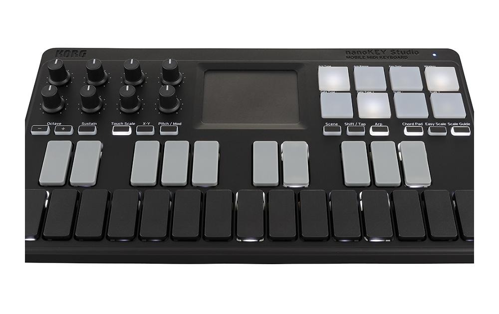 Midi-клавиатуры Korg NanoKEY Studio