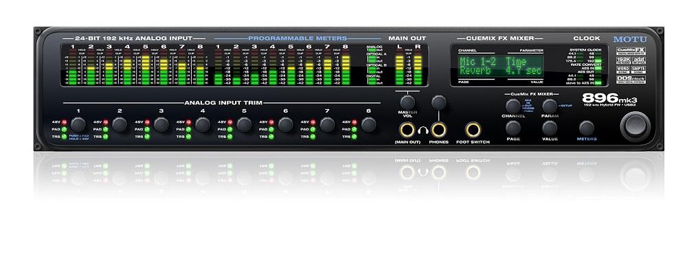 Звуковые карты Motu 896mk3