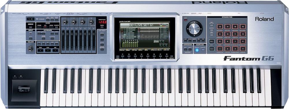 Синтезаторы и рабочие станции Roland Fantom-G6