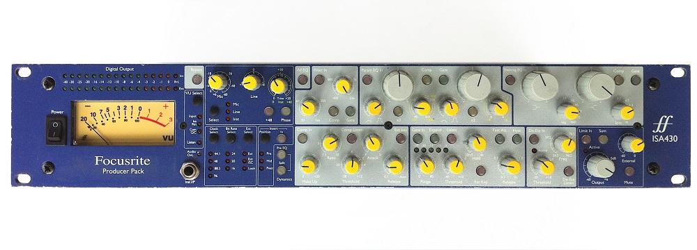 Процессоры эффектов Focusrite ISA430 MKII
