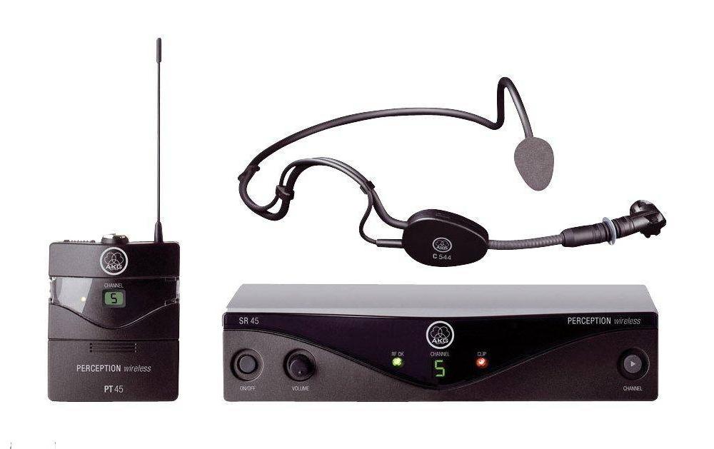 Беспроводные микрофонные радиосистемы AKG WMS 45 Sports Set